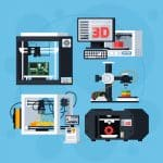 image of different types of 3D Printers