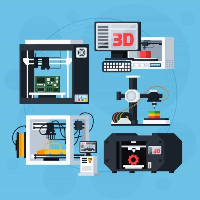 Different types of 3D printers