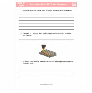 3d printing education resource