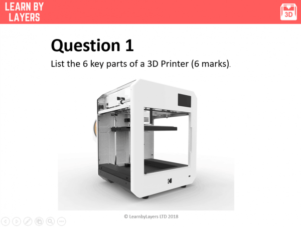 image of 3D printer
