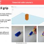 3d printed pencil grip