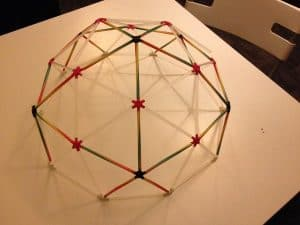 3d printed geodesic dome