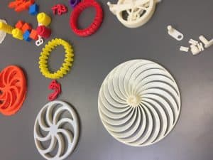 examples of 3D Printing resources for classroom use