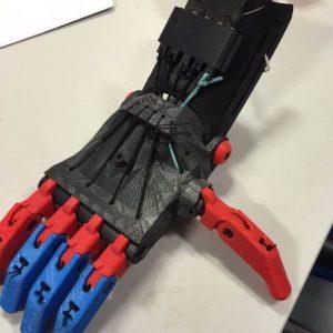 3d printed robo hand
