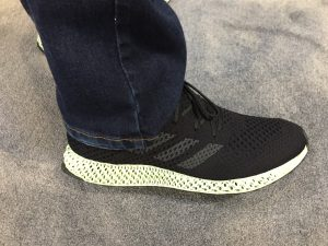 Adidas 3D printed training shoe