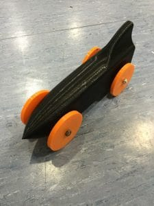 air powered stem car