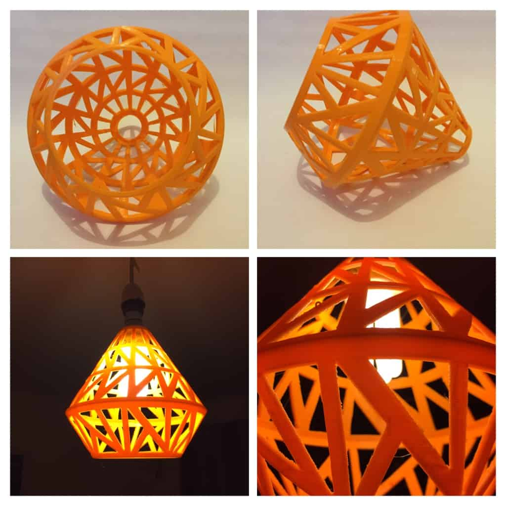 geometric advanced skills lampshade