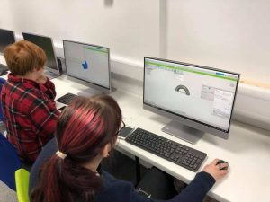 students CAD modelling