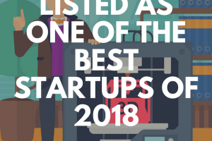 Listed as one of the best startups of 2018