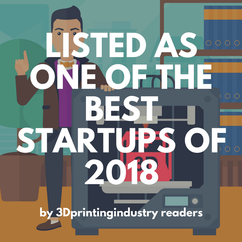 text reading - listed as one of the best startups of 2018