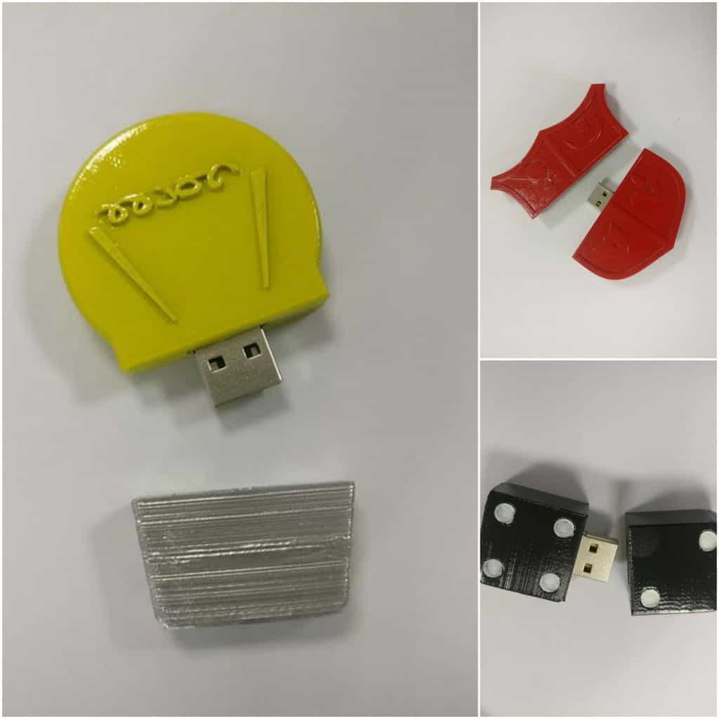 3d printed usb stick