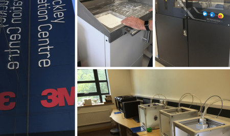 Industrial 3D printing at 3M Buckley Innovation Centre