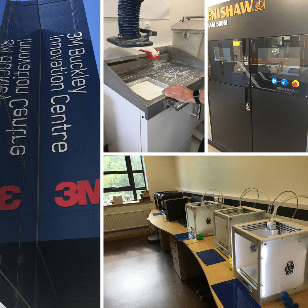 3D printers buckley innovation centre