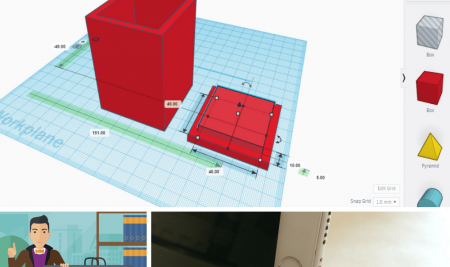 Starting out with TinkerCAD in education