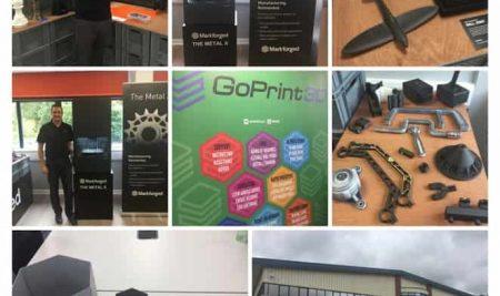 Markforged metal X 3D printer with GoPrint3D
