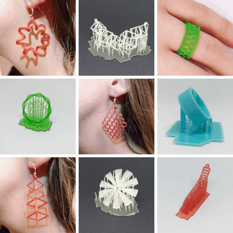 resin 3D printing jewellery