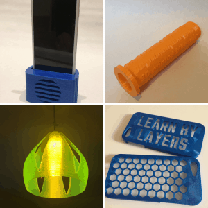 Image showing 3D printed objects