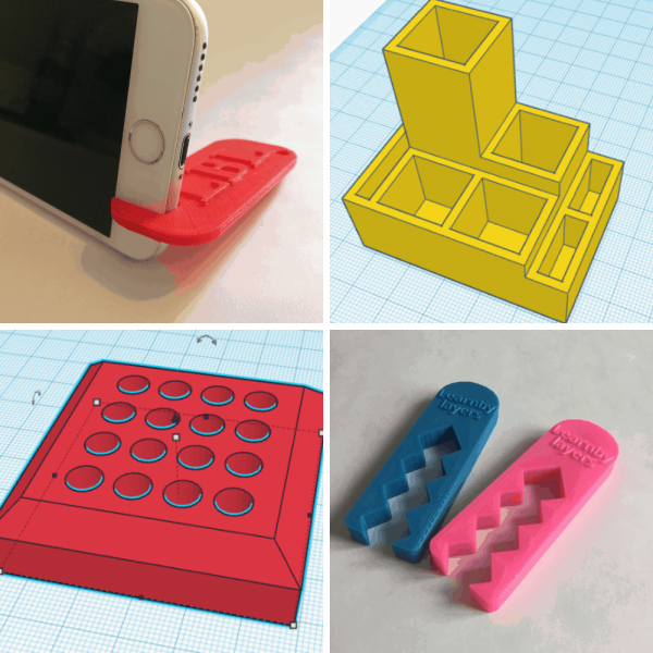 3d printer challenges for students