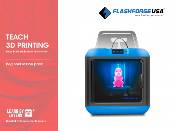 flashforge beginners curriculum