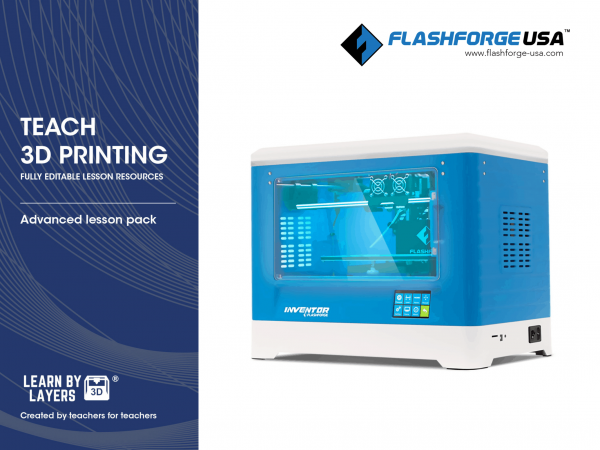 Advanced curriculum for flashforge printers