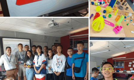 International 3D printing workshops with learnbylayers