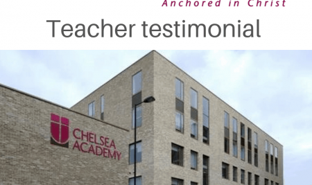 Teacher Testimonial – Design and Technology teacher Paras Gonzales, Chelsea Academy UK