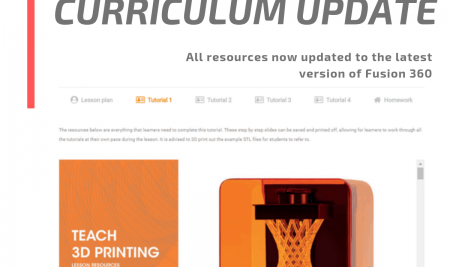 Mega Curriculum updated to latest version of Fusion 360.