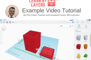 TinkerCAD video