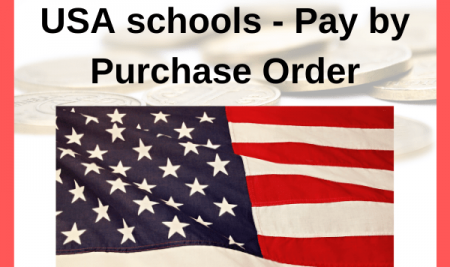 USA schools – pay by purchase order