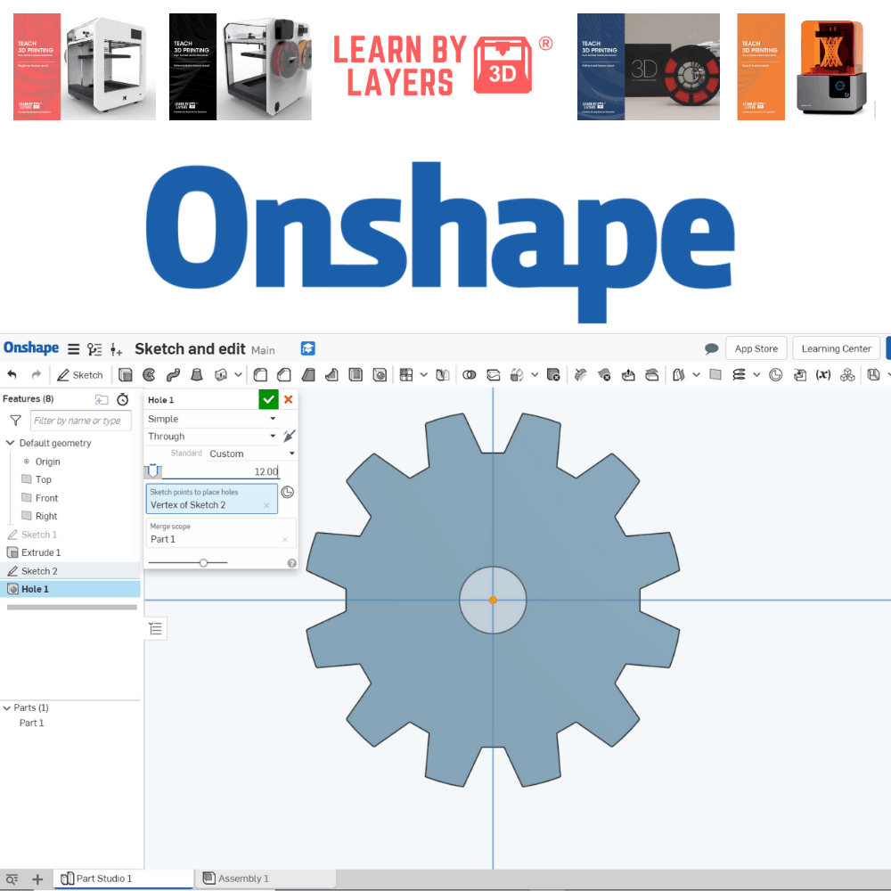 Onshape education curriculum