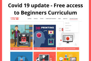 Free access to the beginner curriculum