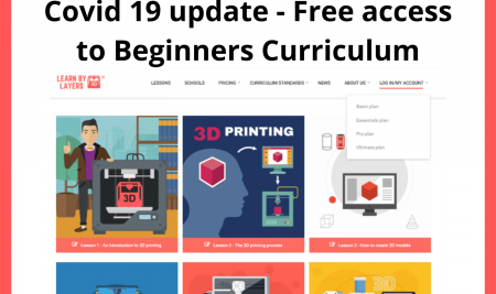 Covid 19 Update – Open access to Beginners curriculumm.