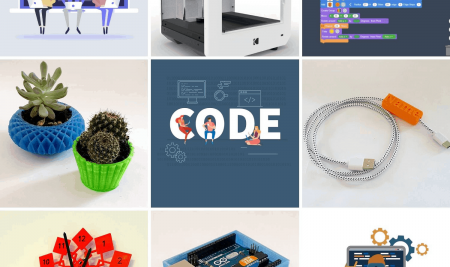 Coding for Kids – Teach 3D printing with scratch programming