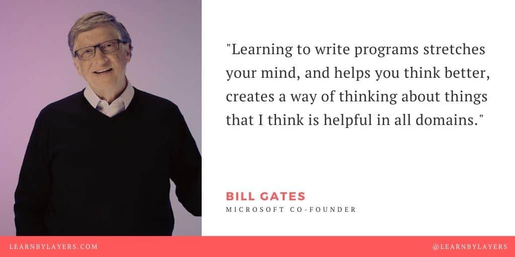 bill gates coding quote