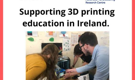 Learnbylayers and I-Form supporting 3D printing in Irish schools