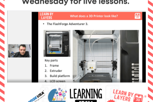 3d printing live lessons