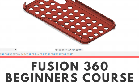 Fusion 360 beginners online course.