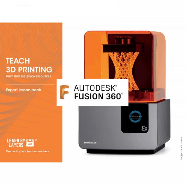 Resin 3D printing lesson pack