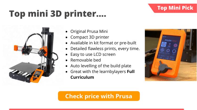 min 3d printer prusa