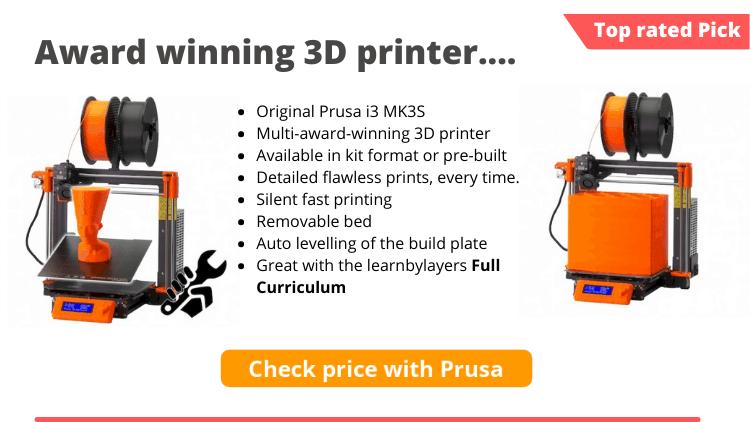 prusa 3d printer education