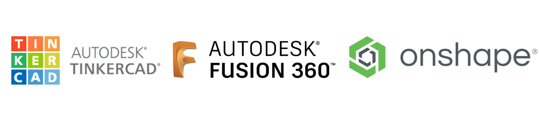 tinker cad fusion 360 onhape